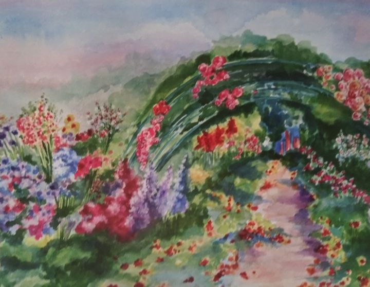 Monet's Garden - All Things Bright and Colorful