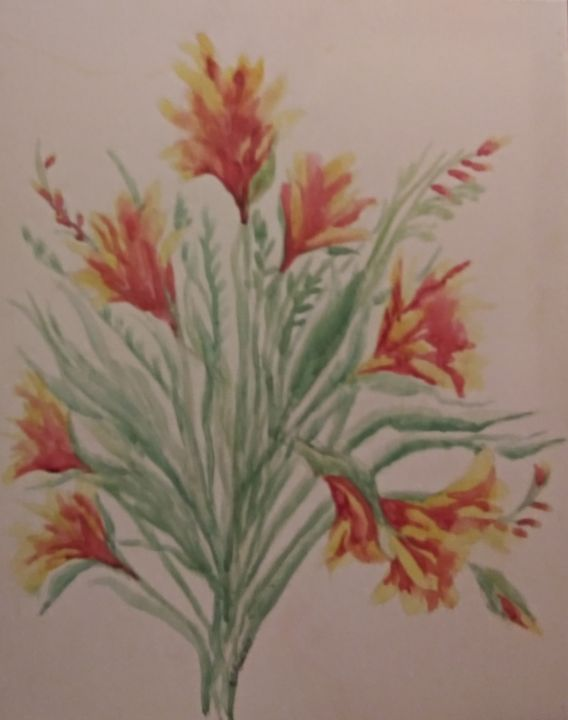 Fiery Freesias - All Things Bright and Colorful