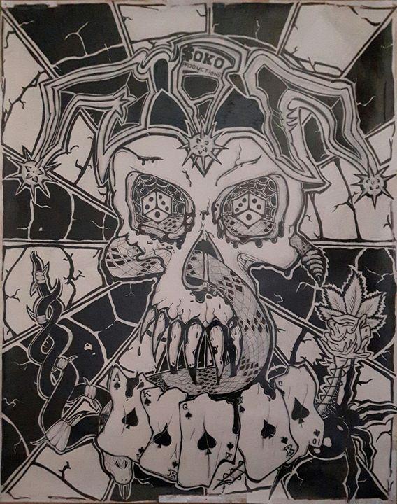Ink Skull - Soko