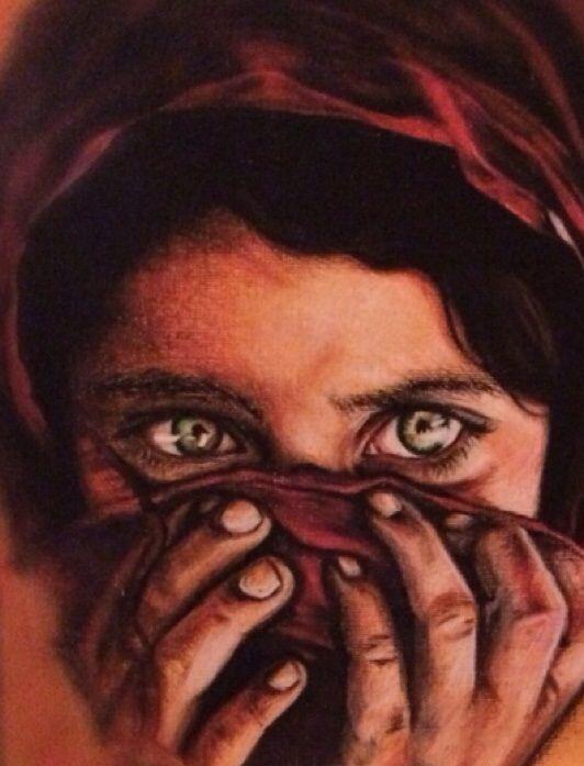Afghan Girl - Aroyaa
