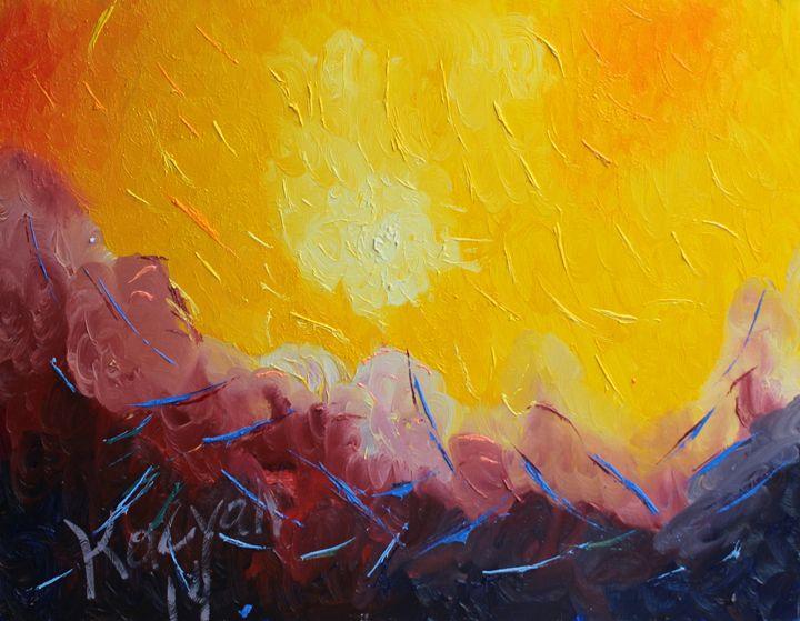 Desert sun -  Gevnona