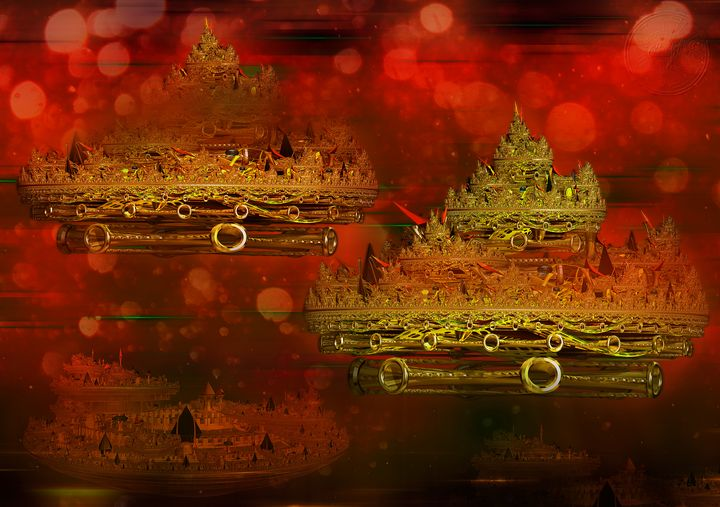 DA City Underwater Fractal IA2. - OmarHernandez