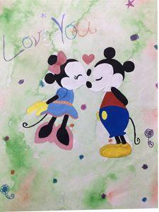 Mickey loves miney