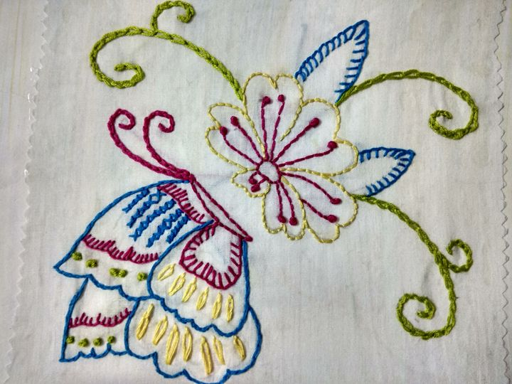 Beautiful embroidery - Ruchi's creations