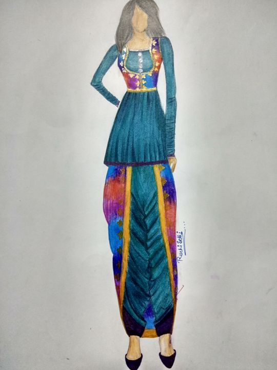 Fashion by me - Ruchi's creations