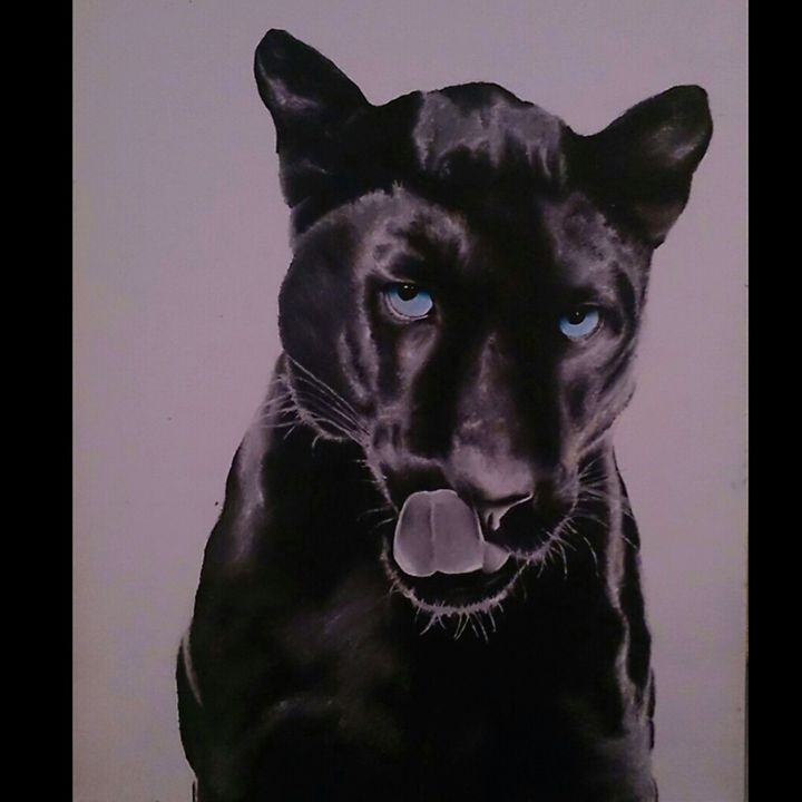 panther - Acrylic Paintings