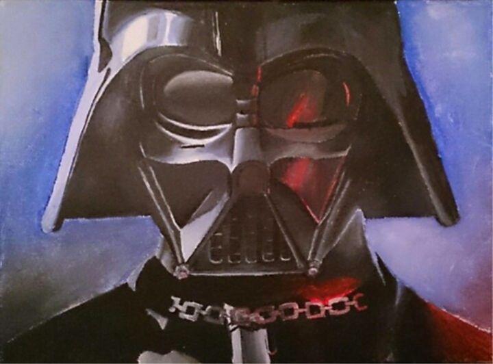 Darth Vader - Acrylic Paintings