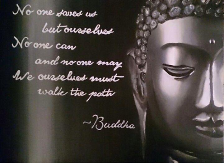 Buddha - Acrylic Paintings