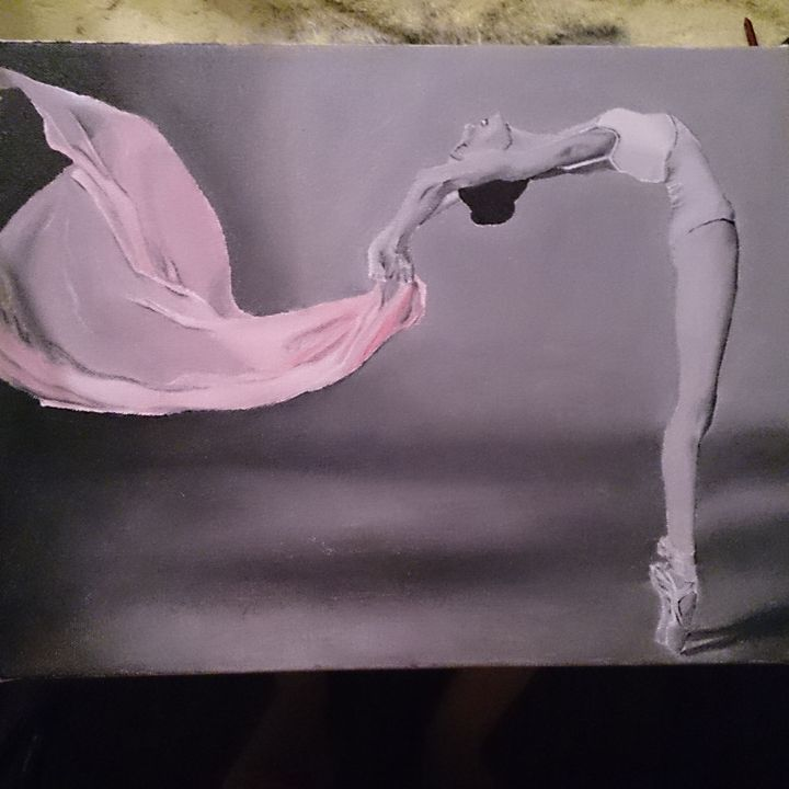 Ballerina - Acrylic Paintings