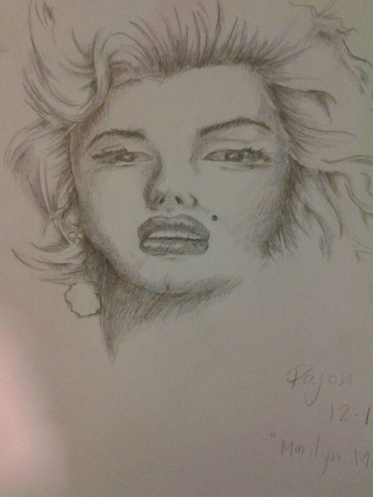 Marilyn Monroe - Rajon's ArtWork