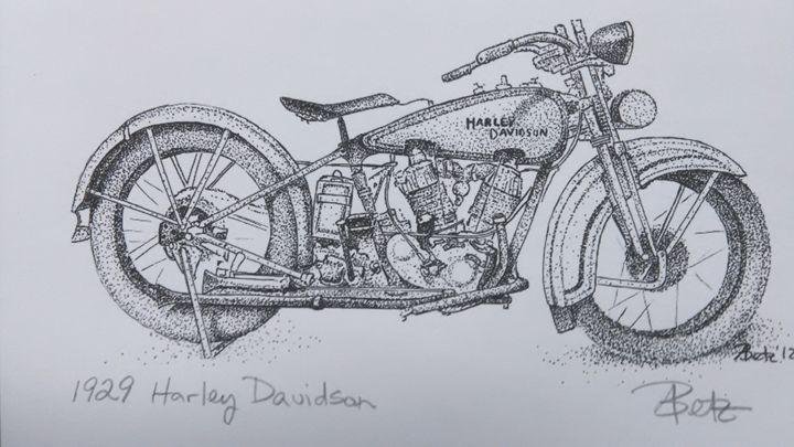 1929 Harley Davidson - Amy Betz