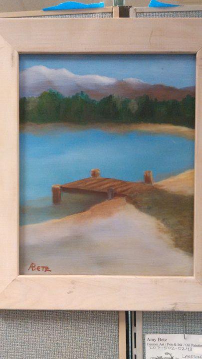 Lakeside Dock, VT - Amy Betz