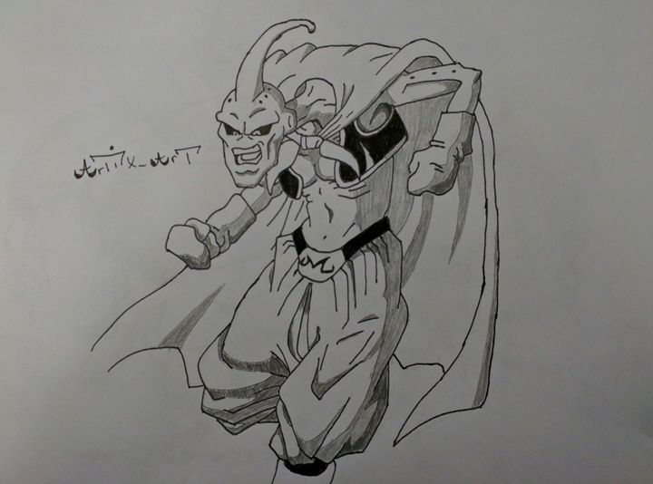 Evil Buu Dragon Ball Z - ArtiX_Art