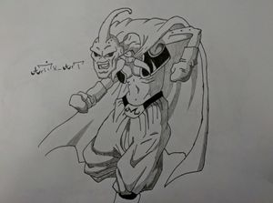 Evil Buu Dragon Ball Z