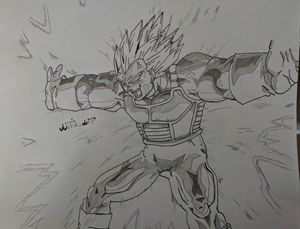 Final Flash Vegeta Dragon Ball Z