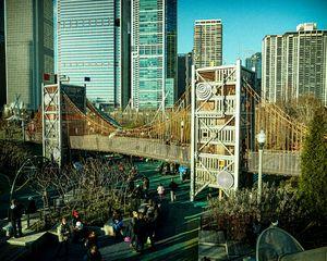 Bridge at Maggie Daily Park Chicago
