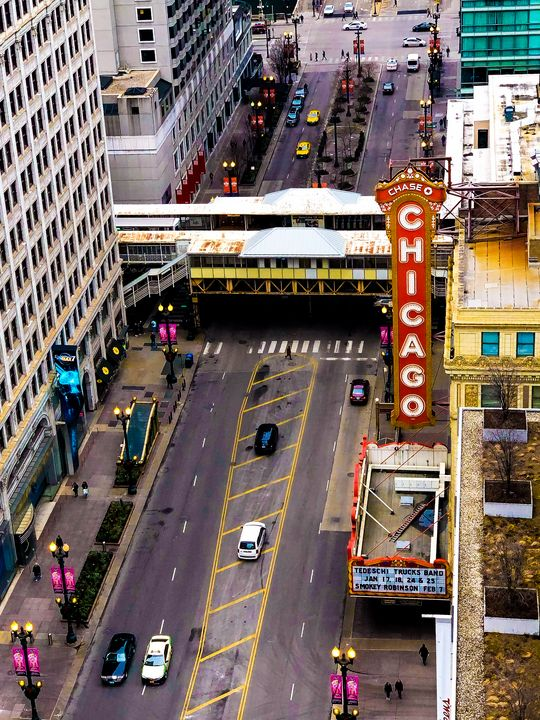 Chicago Theater, State Street - Dan Dunn | DRD.images