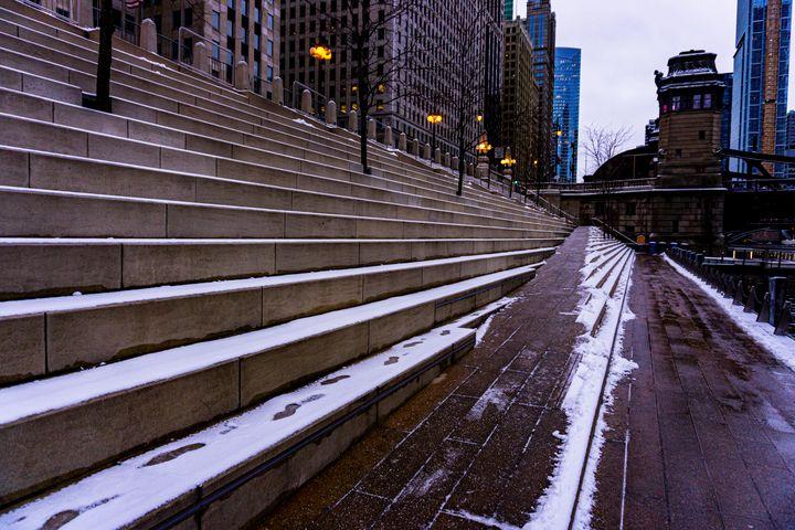 Riverwalk Steps and Seats - Dan Dunn   DRD.images