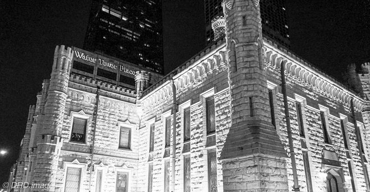 Chicago Water Tower Water Works Bldg - Dan Dunn   DRD.images