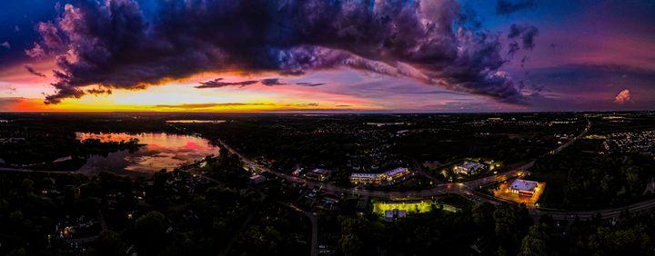Sunset over Lakemoor - Dan Dunn   DRD.images