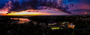 Sunset over Lakemoor