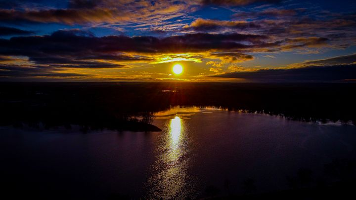 Winter Sunset over Lily Lake - Dan Dunn | DRD.images