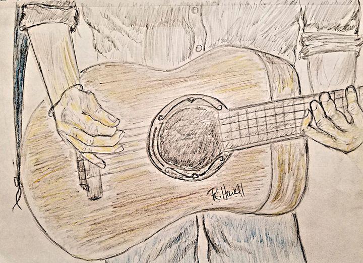 Guitar Man - Rick Howell