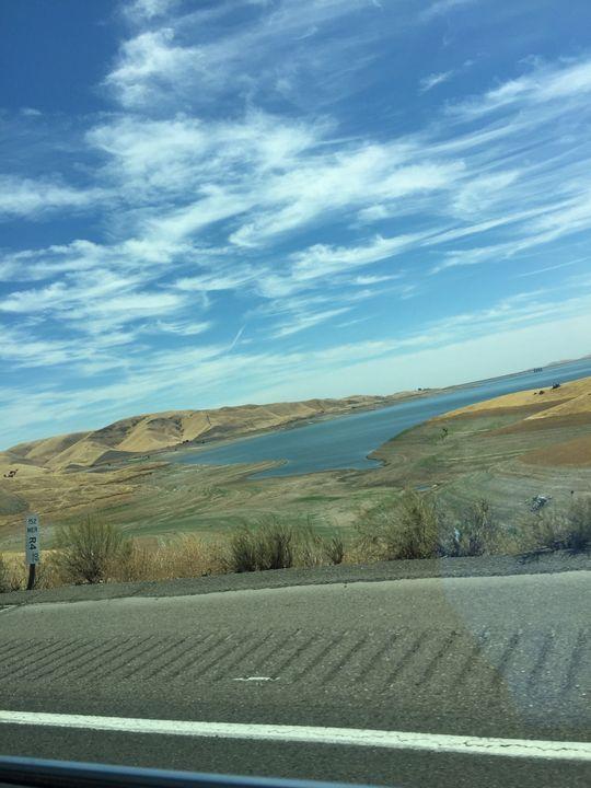 San Louis reservoir - Just Random Shots