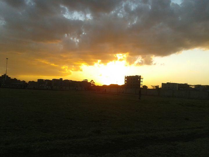 sunset - planetart