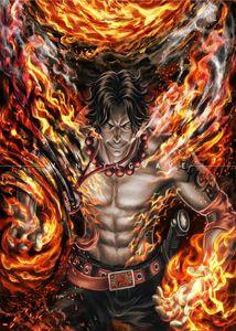 Ace One Piece Art