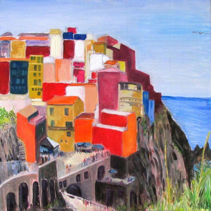 Chinque Terre Italy - Dan Shiloh