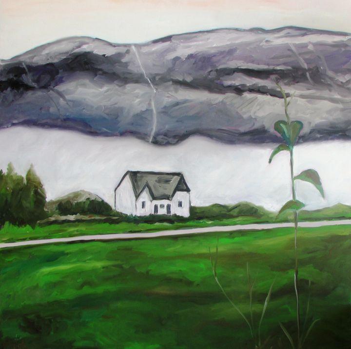 Norway cloudy landscape - Dan Shiloh