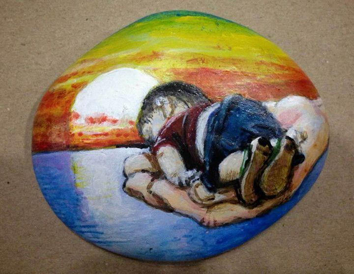 Death of Aylan Kurdi - Richard Liu