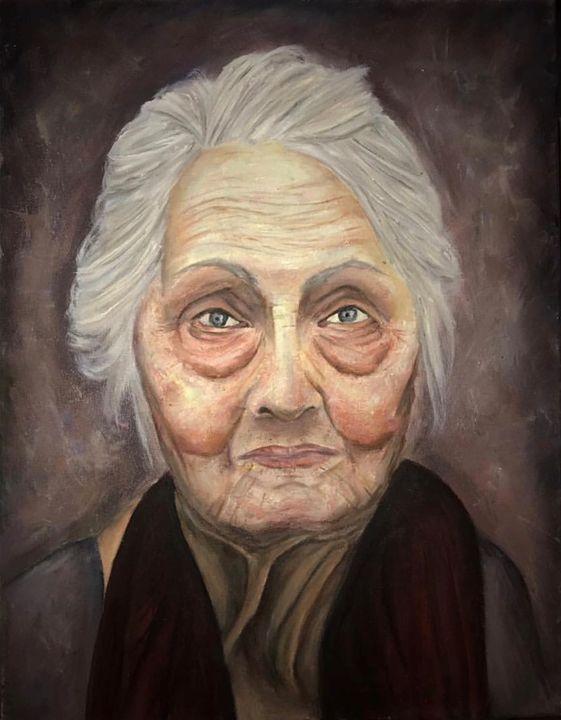 The Grandmother - SandyPaints