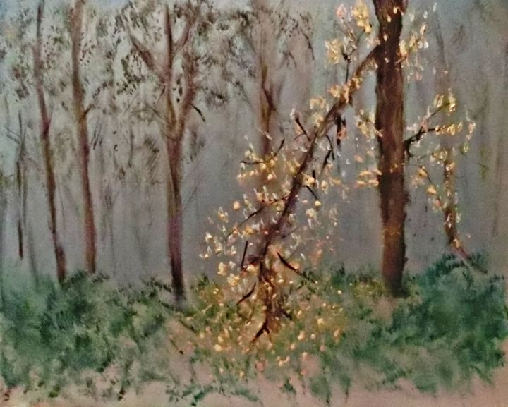 Gold Leaves - Michela's Gallery
