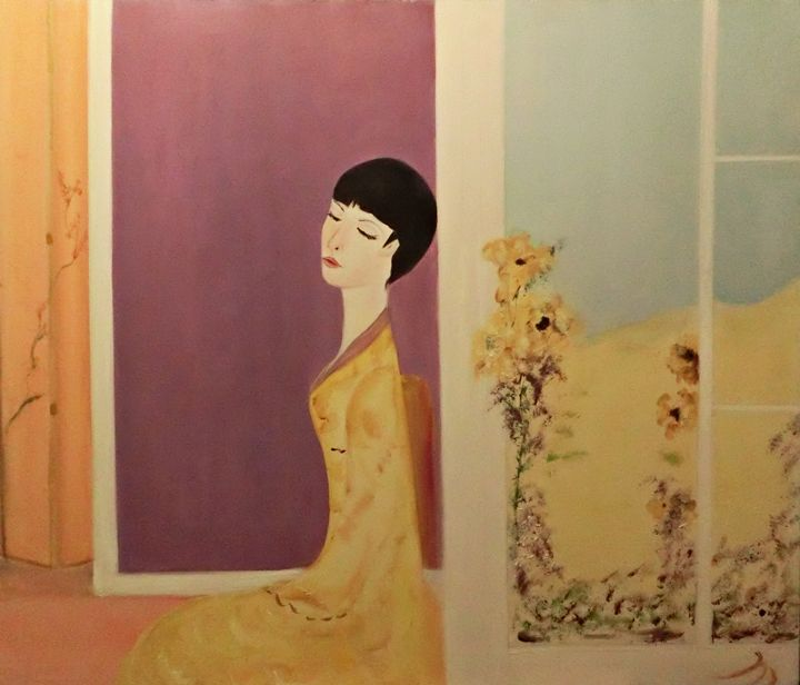 La Femme en Jaune - Michela's Gallery