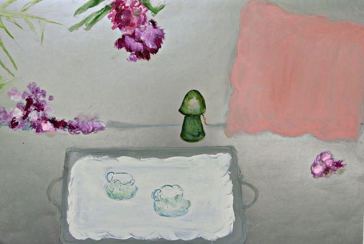 Cafe Au Lait Au Lit - Michela's Gallery