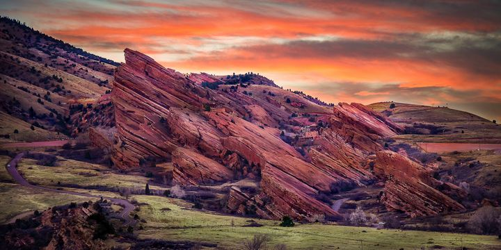 Red Rocks Amphitheater - T.S. Steiner Photography