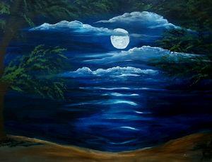 Moonlit cove - Tama Ballard