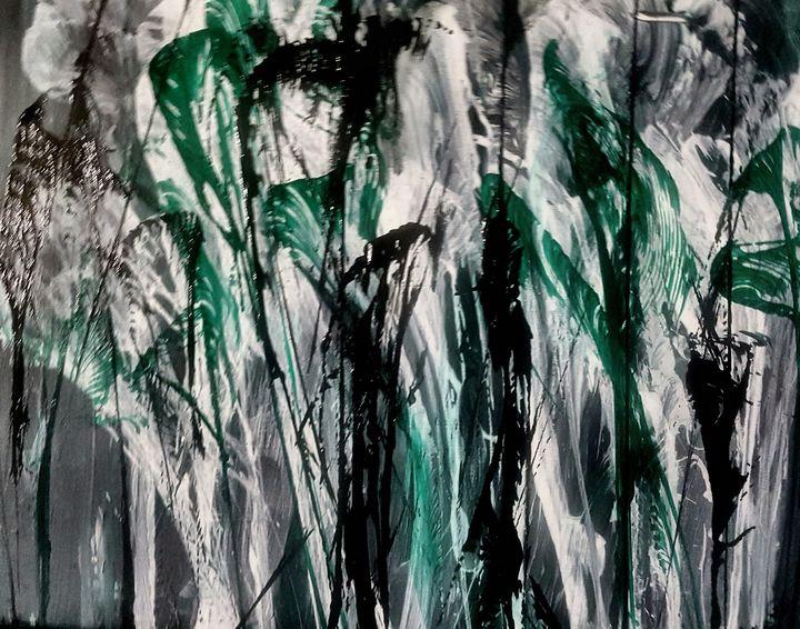 Calla lilly jungle - Tama Ballard