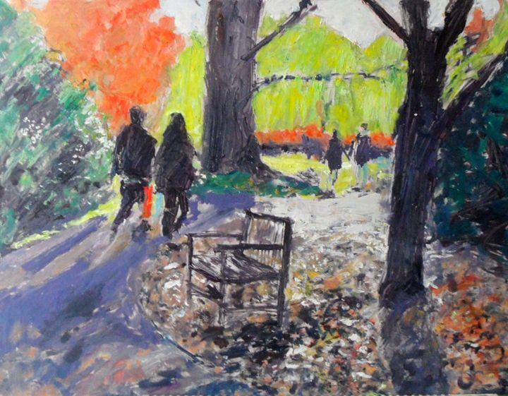 Walk in botanical gardens - Riverview Gallery