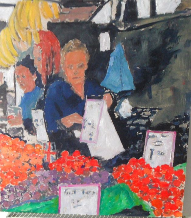 Fruit seller - Riverview Gallery