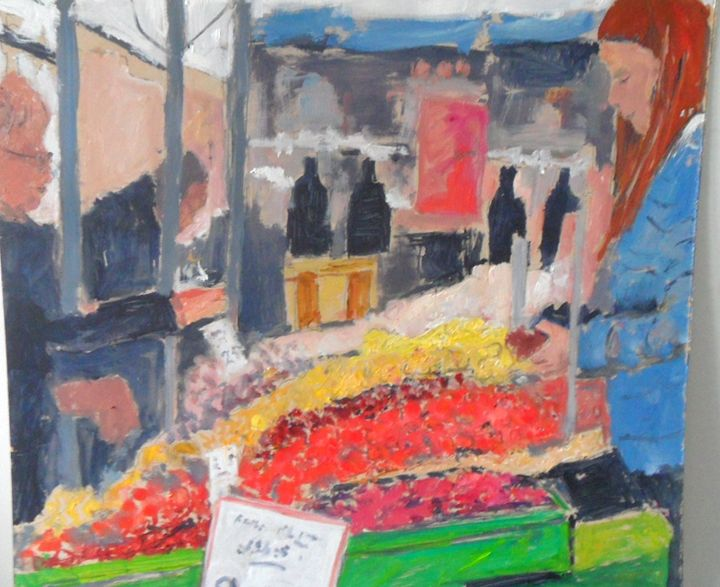 Fruit stall. - Riverview Gallery
