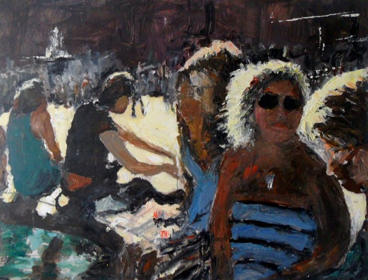 London Trafalgar Square - Riverview Gallery