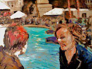 fountain trafalgar square - Riverview Gallery