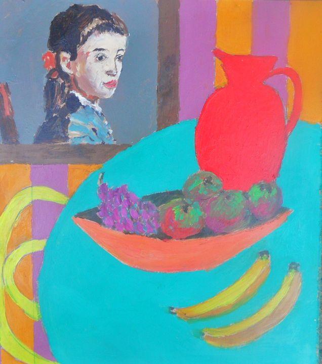 still life portrait - Riverview Gallery