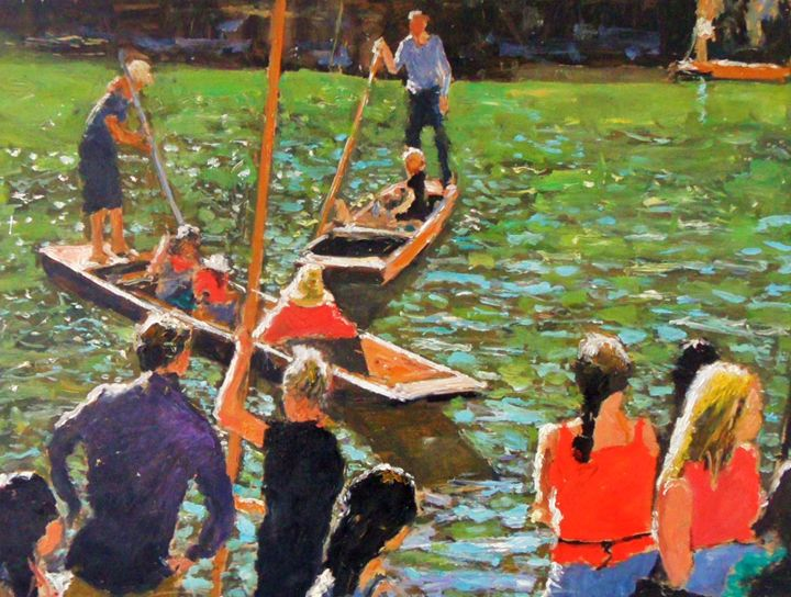 Cambridge boats - Riverview Gallery