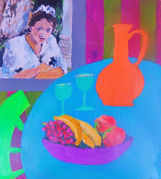 girl with jar - Riverview Gallery