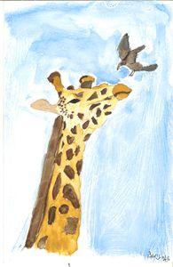 Giraffe Landing