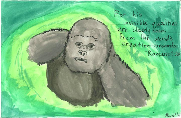 Silverback Gorilla - Laurel Anne's Menagerie